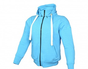 DAMES HOODIE BOOSTER CORE BLAUW